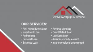 active mortgage cover page